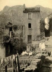CORTE - La Maison des Romei rasée par ordre de la Nation en 1755 (Copier) (Copier) copie