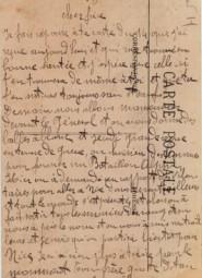 Texte de la Nouvelle Caserne - Cour intérieure - Juin 1915 (Copier)