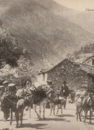 Départ des Bergers pour la Montagne (Copier) copie