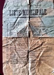 Liste Municipale