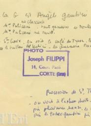 Procession St Théophile 19 mai 1954 arrière photo notes (sialelli)