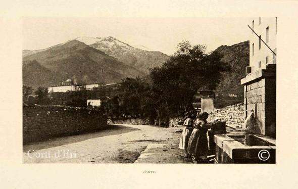 Fontaine de Panaté avant la contruction de la sous-préfecture et des villas (Copier)