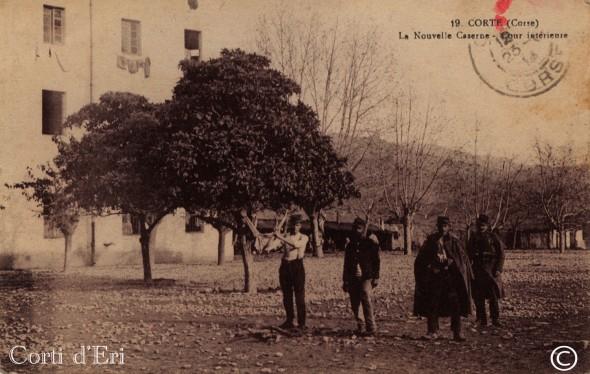 La nouvelle Caserne - Cour intérieure - Juin 1915 (Copier)