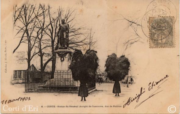 Statue du général Arrighi de Casanova - Duc de Padoue - 11 août 1902 (Copier)