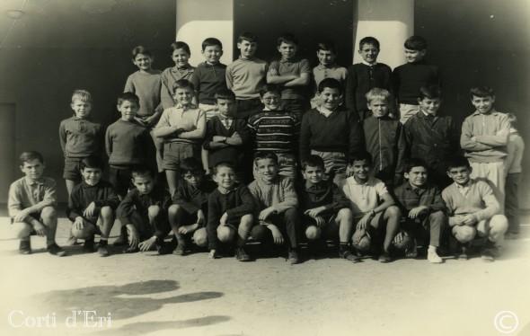 Année scolaire 1967 - classe 7ème (Copier) copie