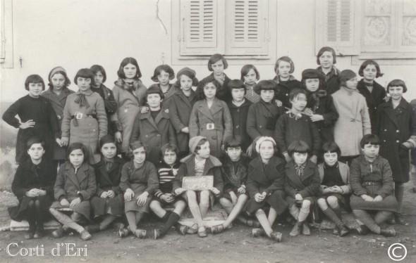 classe de 7ème et 8ème en février 1933 (Copier) copie