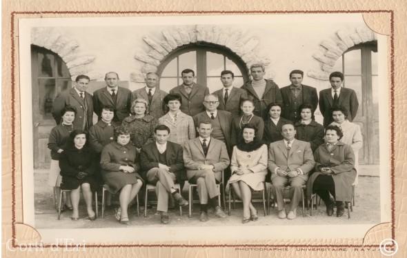 collège - lycée Pascal Paoli 1961-1962 enseignants (Copier) copie