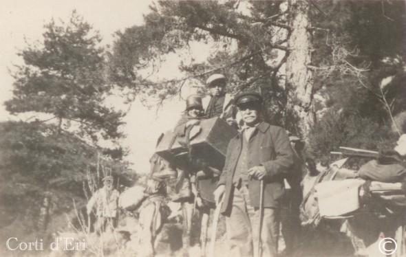 départ pour la montagne - juillet 1928 (Copier) copie