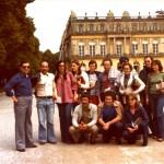 A Mannella en tournée à Munich au château de Louis II de Bavière en 1977
