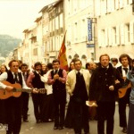 A Mannella au festival de Vichy juillet en 1981