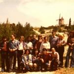A Mannella moulin d'Alphonse Daudet en mai 1978
