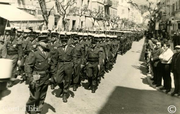 Arrivée de la Légion à Corte (2) - été 1962 (Copier) copie