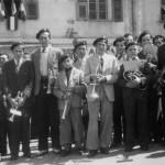 La Cortenaise souvenir du 17 mai 1949 sur la place Paoli