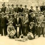 La Cortenaise souvenir du 26 mai 1956 après l'enterrement de notre cher et regretté Président Martinetti