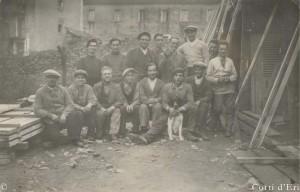 Ouvriers de la menuiserie MANNONI 3