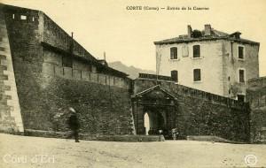 CORTE Corse - Entrée de la Caserne copie