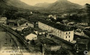 Corte - vue panoramique sur la Citadelle copie