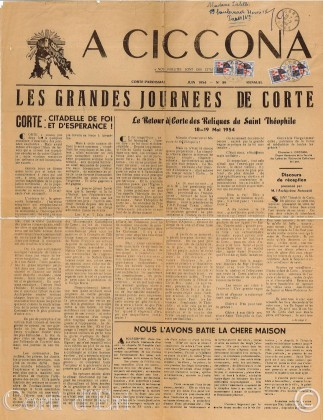 A Ciccona Juin 1954 Page 1 Fusionlogo