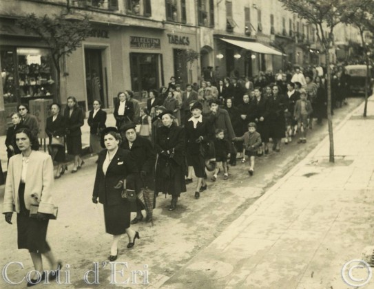 Procession St Théophile 19 Mai 1954(sialelli)
